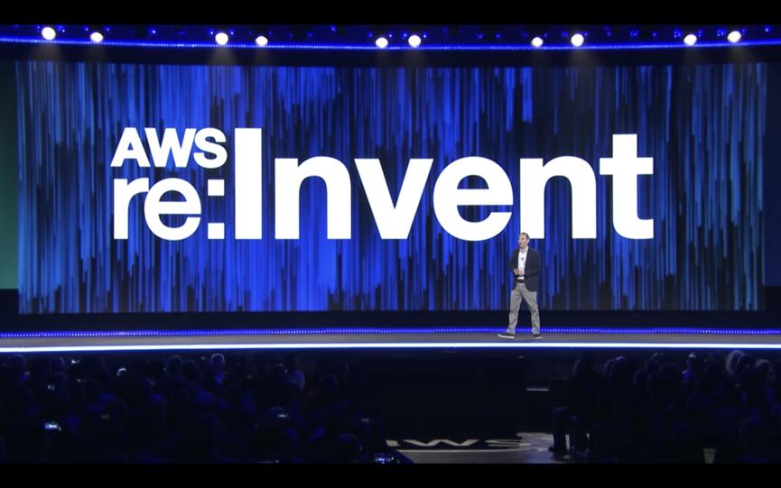 图片来源:AWS re:Invent 大会官方网站